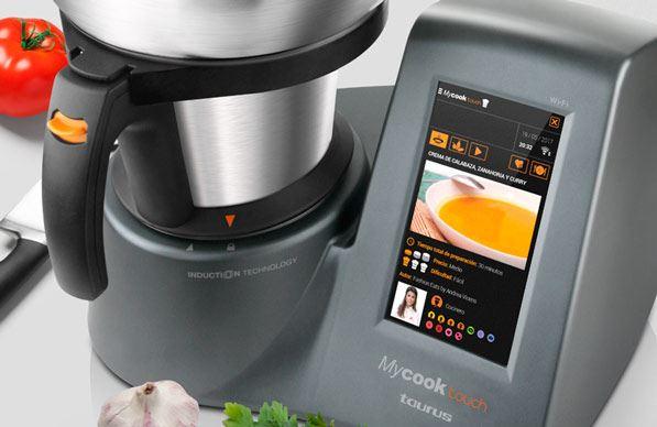 taurus mycook touch - pantalla