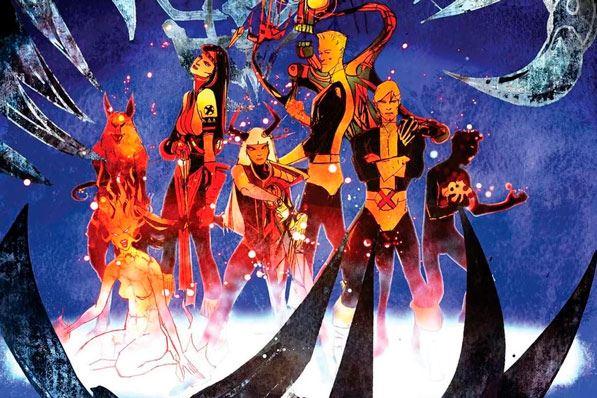 los nuevos mutantes-comic