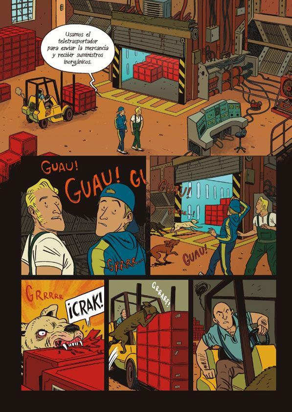 la auditora-comic