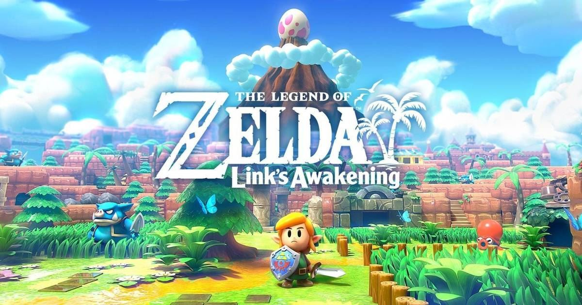 One day: The legend of Zelda: Awakening.