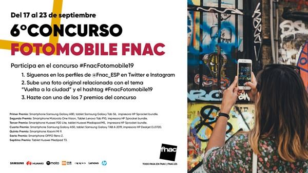6º Concurso Fotomobile Fnac