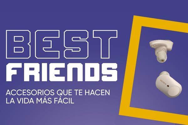 Sonido best friends: Accesorios que te hacen la vida más fácil