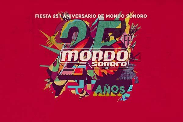 Fiesta 25º aniversario de Mondo Sonoro