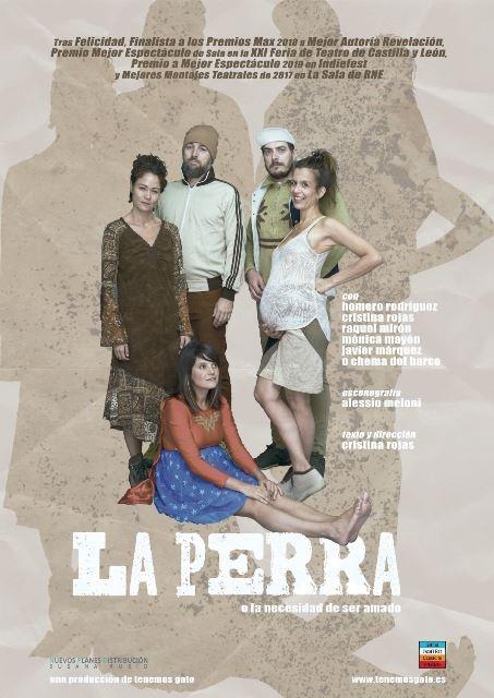 "LA PERRA"".Sala Cuarta Pared (Madrid). Te invitamos a las ..."