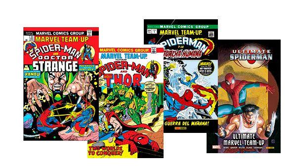 Marvel Team Up-comics
