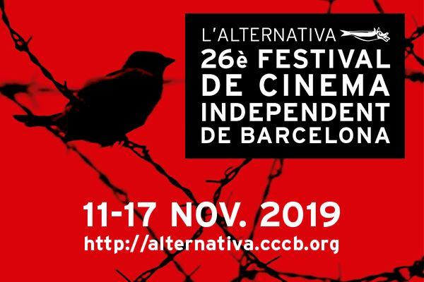 26º L'ALTERNATIVA, FESTIVAL DE CINEMA INDEPENDENT DE BARCELONA. Del 11 al 17/11. CCCB. Sorteo
