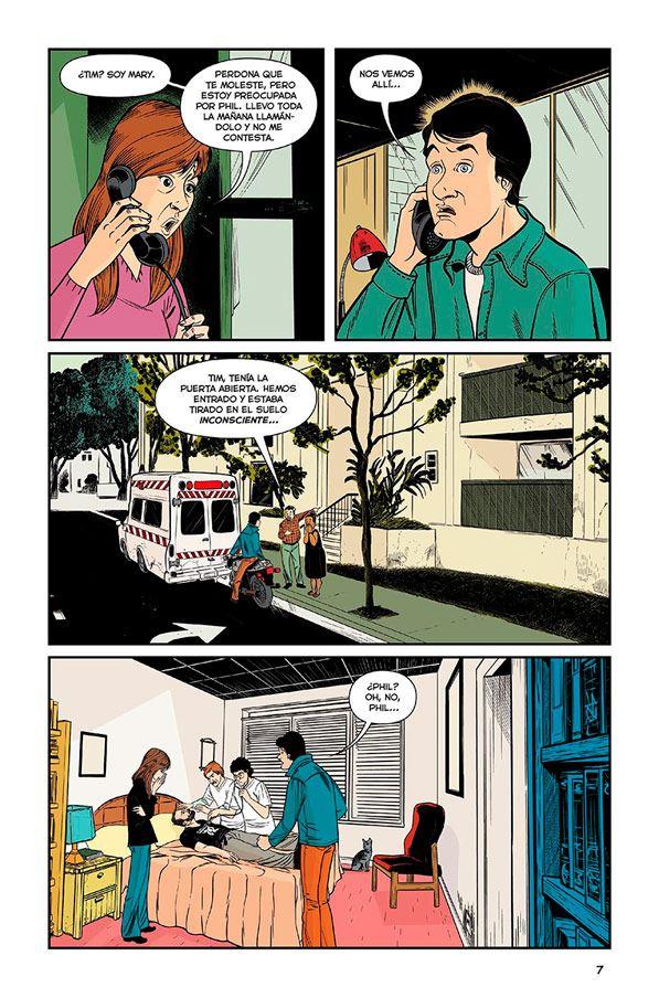 phil - philip k dick - comic