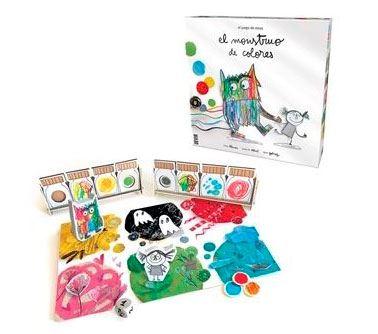 juego de mesa-monstruo de colores