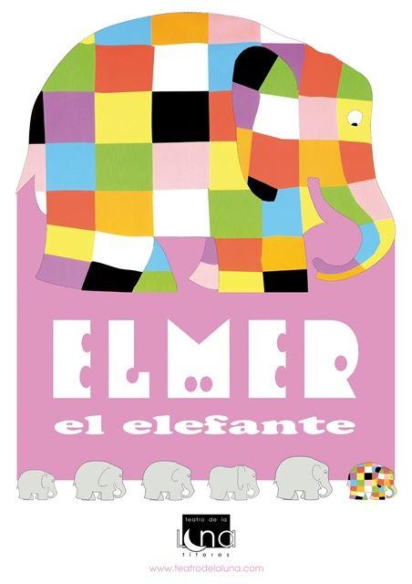 ELMER EL ELEFANTE. Títeres-muppets, infantil Sala Cuarta ...