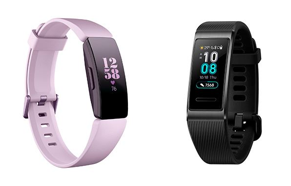 smartbands - FITBIT INSPIRE y HUAWEI BAND 3