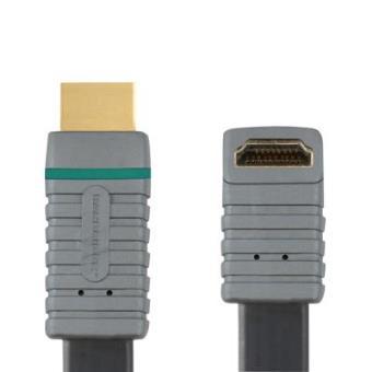 Cavo Plano Alta Velocità Hdmi® a un Ángulo de 270° con Ethernet 2.0 m