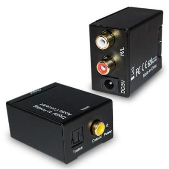 Conversor De Audio Digital Optico Coaxial A Analogico Rca Conmutadores Conversores Y Otros Accesorios Los Mejores Precios Fnac