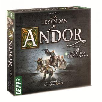 Juego de mesa Devir Las leyendas de Andor: la ultima esperanza