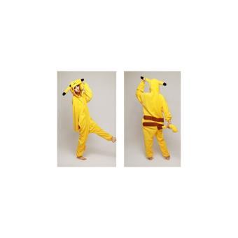Disfraz Pijama Inspirado En Pikachu Adulto S Juegos De Disfraces
