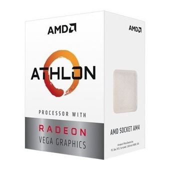 Micro Amd Am4 Athlon 3000G 3.5Ghz 5Mb 35W