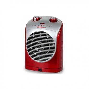 Calefactor Orbegozo Fh-5025 2200w Rojo Oscilante