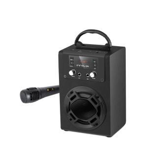 Mini torre de sonido bluetooth con radio fm y lect memorias