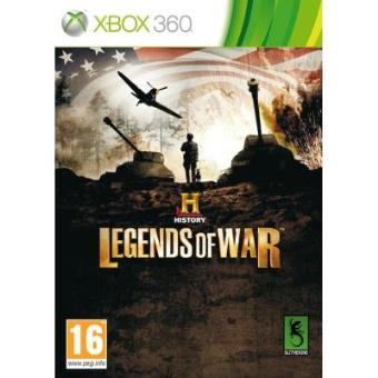 History Legends Of War - Xbox 360