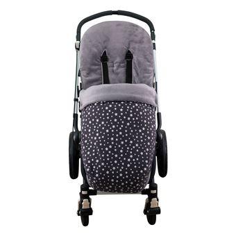 Saco universal Janabebé para silla de coche de abrigo polar Winter Sky
