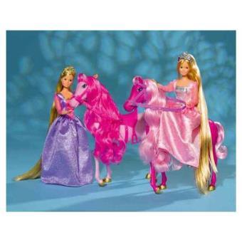 Simba Toys 105734025 Steffi Love - Princesa con caballo