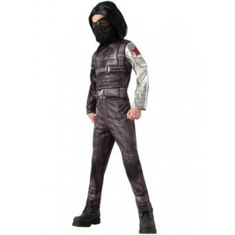 Disfraz Soldado de Invierno Capitán América: el Soldado de Invierno deluxe para niño Original - Talla - 3-4 años