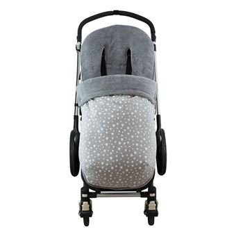 Saco universal Janabebé para silla de coche de abrigo polar White Star