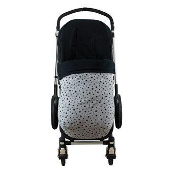 Saco universal Janabebé para silla de coche de abrigo polar Black Star