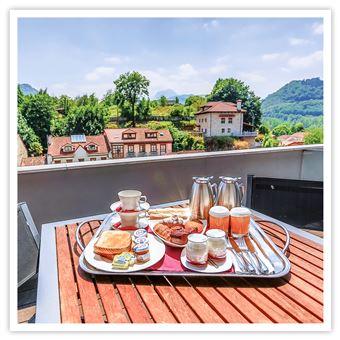 Noche y spa en el Hotel Enclave Las Caldas de 4 estrellas en Asturias Caja regalo Estancias