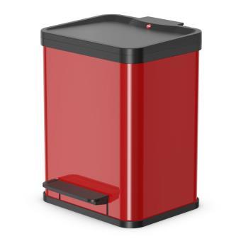 Cubo con pedal Oko Uno Plus tamaño M 17 L Rojo 0619-240