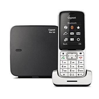 """Gigaset SL450 - Teléfono inalámbrico (Bluetooth, 2.4"""""""" TFT, DECT, GAP) color negro"""