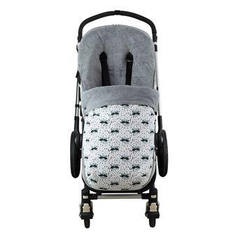 Saco universal Janabebé para silla de coche de abrigo polar Raccoon