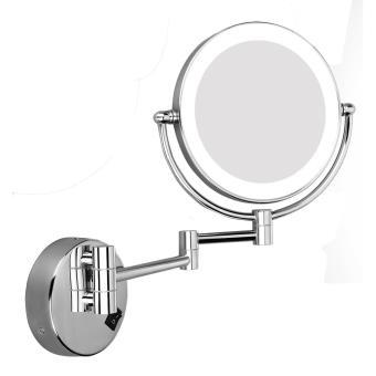 Espejo De Maquillaje De Bano Excelvan Con Luz Led Montaje En Pared