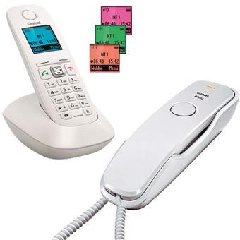 Gigaset L36852-W2601-D2 - Pack de teléfonos fijos