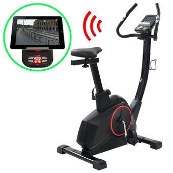 Bicicleta estática vidaXL, programable masa 10 kg con app de smartphone