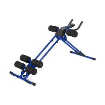 Klarfit AB Cruncher Aparato de abdominales máquina entrenamiento azul