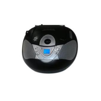 Nevir NVR-474U - Radio CD con MP3, portátil, color negro