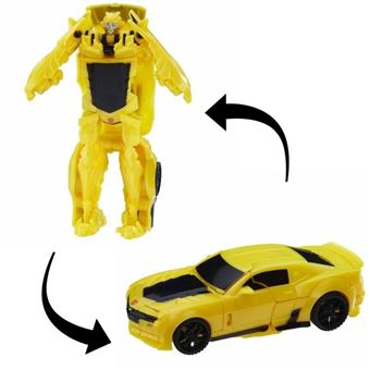 TRANSFORMERS The Last Knight - BUMBLEBEE Turbo Changers - Robot 10cm