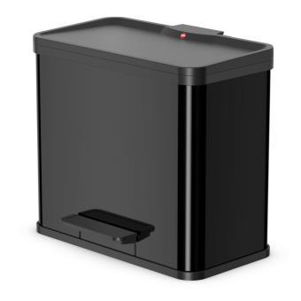 Cubo con pedal Oko T Plus tamaño L 3x9 Negro 0633-260