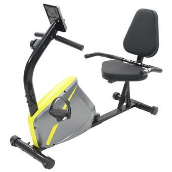 Bicicleta estática vidaXL, reclinable 5 kg masa giratoria