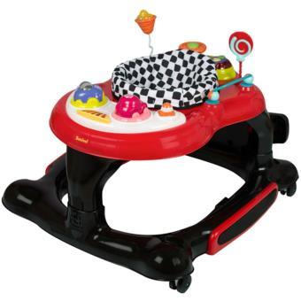 Andador para bebés 3 en 1 Presto 12 kg Rojo BNBW008-RDBK
