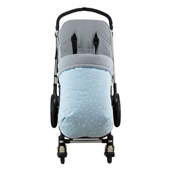 Saco universal Janabebé para silla de coche de Algodón Blue Sparkles