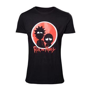 Camiseta Rick & Morty Big Red Logo Xl