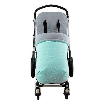 Saco universal Janabebé para silla de coche de Algodón Mint Sparkles