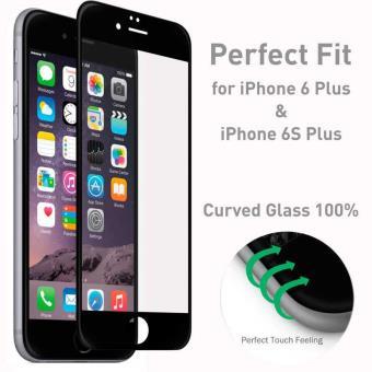 e4b2806c4f4 Protector Pantalla Cristal Templado 3D Curvo Para Iphone 6 / 6s Plus 5.5  Negro - Protector de pantalla para móviles - Los mejores precios | Fnac