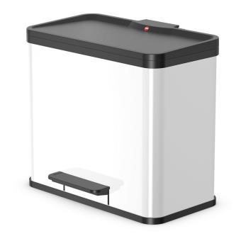 Cubo de basura pedal Oko T Plus TamañoL 3x9 L Blanco 0633-230
