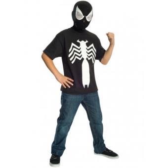 Kit Disfraz Spiderman Negro Ultimate Spiderman para niño Original - Talla - 3-4 años