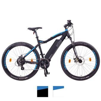 """Bicicleta eléctrica de montaña NCM Moscow 27,5"""" Negro"""