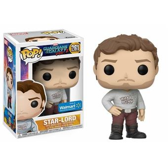 Funko Pop Vinyl Guardians Of The Galaxy 2 Star Lord With Gear Shift Shirt