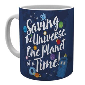 Taza Doctor Who Salvando El Universo