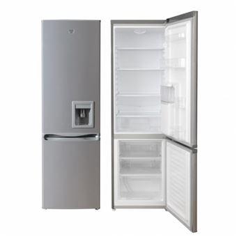 Frigorífico combi Jocel JC-350LSD, 244L A+ Silver nevera y congelador